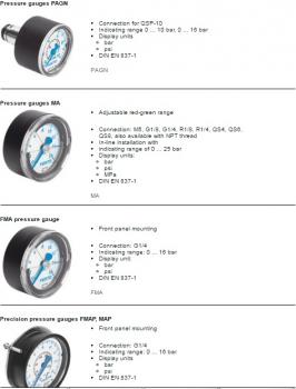 Đồng hồ áp suất khí FESTO