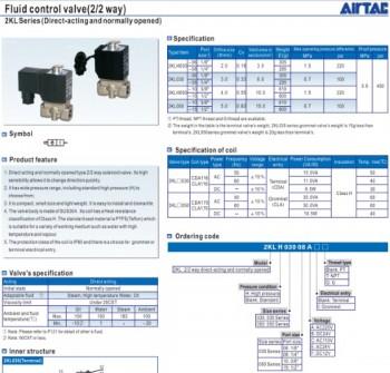 Van điện từ airtac 2KL Series